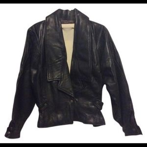 Fendi Vintage Leather Jacket