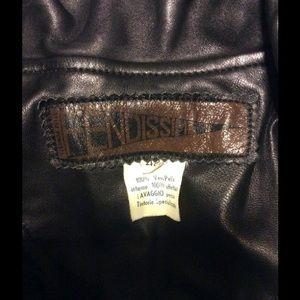 Fendi Jackets & Coats - Fendi Vintage Leather Jacket