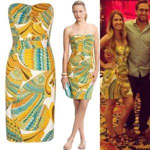 Trina Turk for Banana Republic Strapless Dress