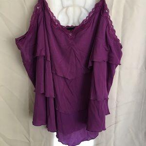 Lane Bryant purple camisole