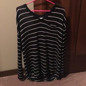 Mission striped sweater-never worn