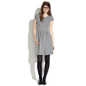 Madewell Screenplay Ponte Dress Heather Grey Sz XS