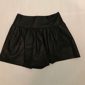 Club Monaco Leather Shorts