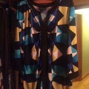 Style & Co. Women's geometric Tunic