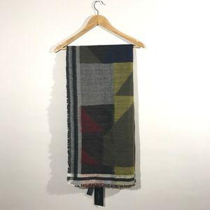 ZARA Oversized Blanket Scarf B21