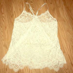 Victoria's Secret all lace lingerie tank!