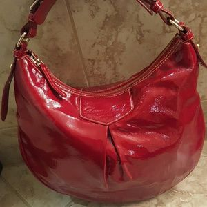 Dooney & Bourke patent leather handbag