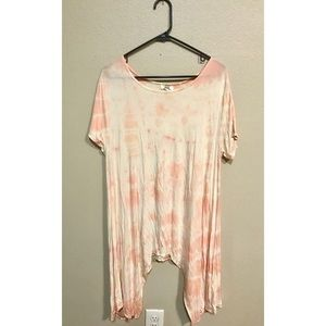Piko tie dyed handkerchief top- 1 of a kind!
