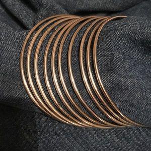 Jewelry - Set of 10 silver tone bracelets similar to Silpada