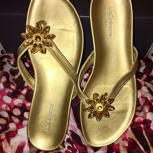 Liz Claiborne Flex Bling Sandals