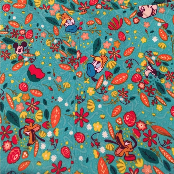 f7f8fcf7816371 LuLaRoe Pants   Disney Goofy Mickey Donald Pluto Leggings   Poshmark