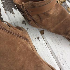 3dd2dc963179 Vince Shoes - Vince THALIA SLOUCHY SUEDE CUTOUT FLAT SANDAL