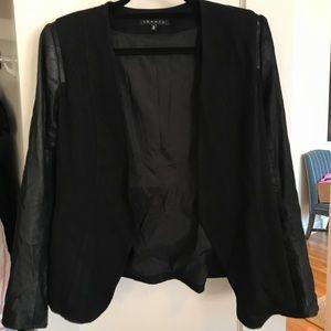 Theory leather jacket/blazer