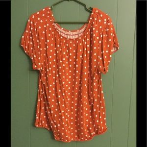 Fun polka dot blouse