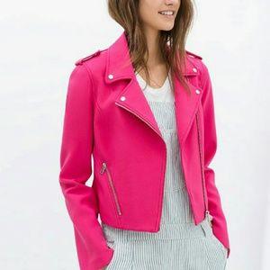 Zara moto jacket 😍