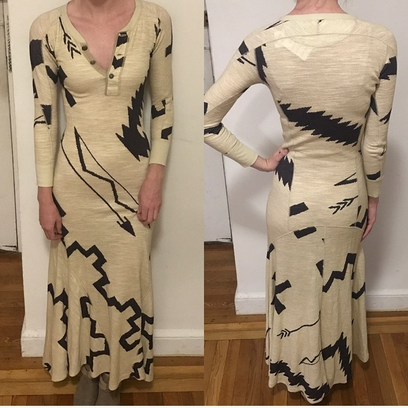 3f1d372a070 ✨SALE✨NWT • POLO Henley Maxi Dress