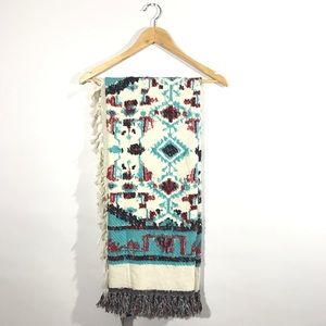 ZARA Oversized Blanket Scarf C12