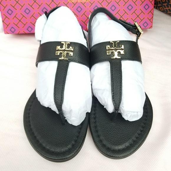 a9d44bbb77b60a Tory Burch Laura Flat Sandals
