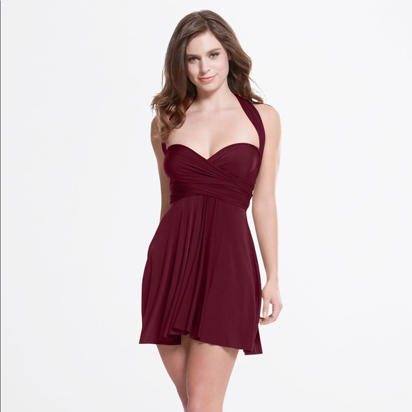 34ad7b9966fc henkaa Dresses   Sakura Mini Convertible Dress One Size   Poshmark