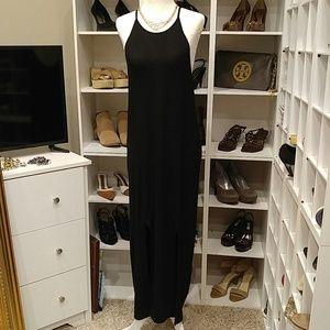 ZARA W& B COLLECTION MAXI STRETCH DRESS M