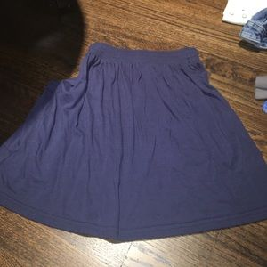 High waisted skirt with pockets