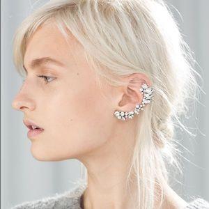Zara Pearl/Diamond Ear Cuff