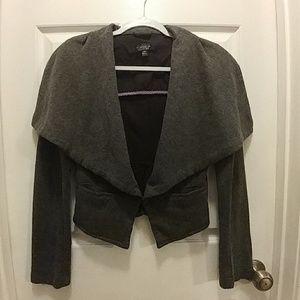 Topshop Knit Blazer Jacket