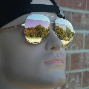 Authentic Dior Gold Split lens aviator Sunglasses