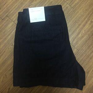 Loft Dark Denim Shorts
