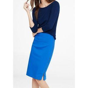 NWT Express Side Zip High Waist Midi Pencil Skirt