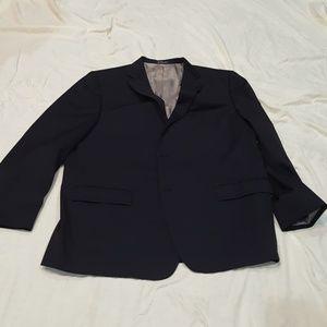 Men's Black Size 50R Blazer