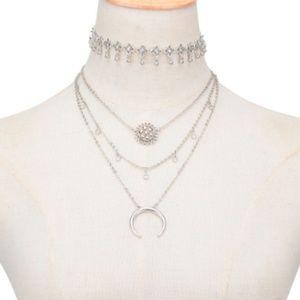 Jewelry - cute INDIGO layered necklace