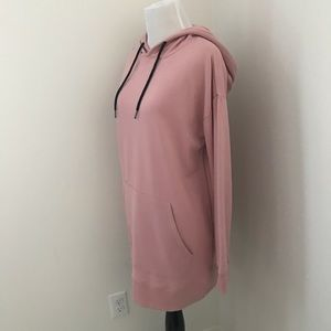 Dresses - Pink hoodie dress