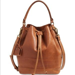 Madewell Lafayette Bucket Bag sold out elsewhere