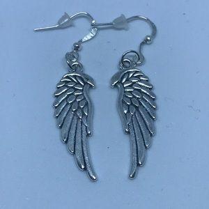 Jewelry - TIBETAN SILVER WINGS  (HANDMADE)