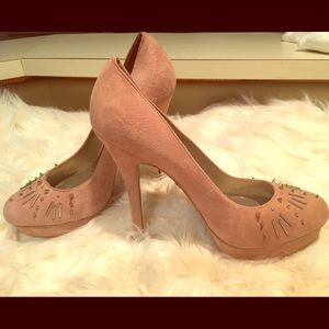 Rachel Roy suede shoes