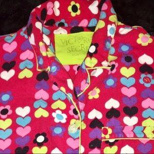 Victoria's Secret Intimates & Sleepwear - Victoria's Secret   Red Heart Pajamas