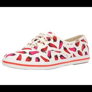 Kate Spade Chili Pepper Sneakers
