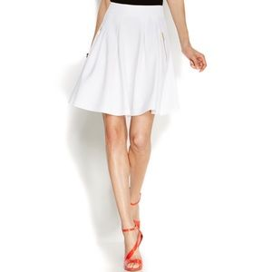 INC International Concept Pleated A-line Skirt