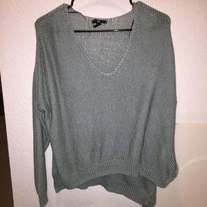 Light mint/green H&M sweater