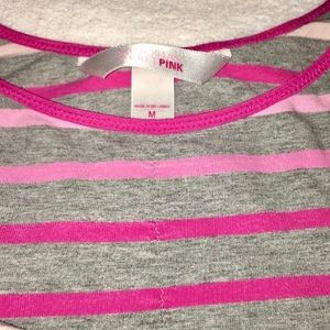 PINK Victoria's Secret Intimates & Sleepwear - PINK Victoria's Secret   Striped Pajama Tank Top