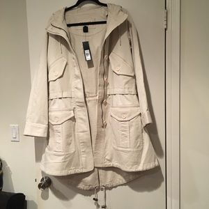 Marc Jacobs Hooded Utility Trench Coat