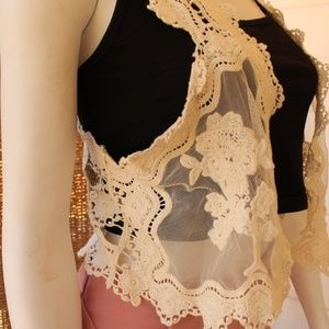 Tops - Brand New Lace Vest