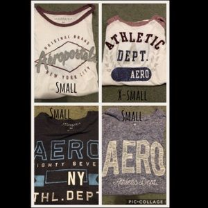 4 areoposltale shirts