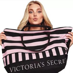 BNWT VICTORIA'S SECRET EXPANDABLE TOTE LIMITED