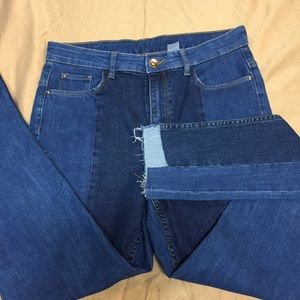 Distressed Divided Jeans