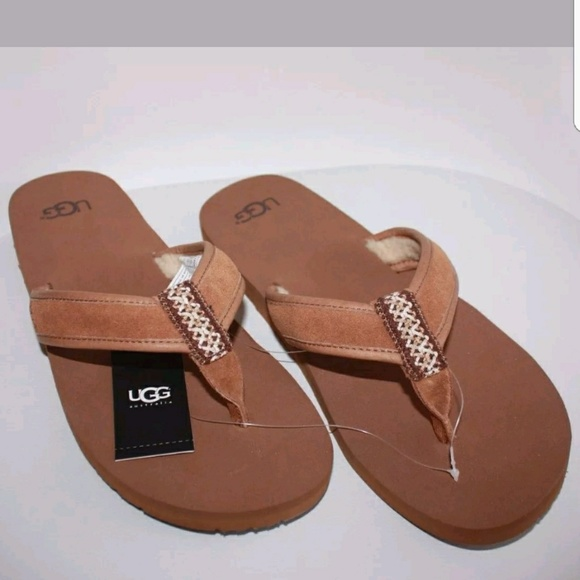 29afa7aa659 UGG Men s Borrego Sandal Slippers Flip Flops US 11