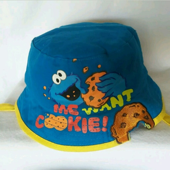 COOKIE MONSTER~Infant Bucket Hat fc32873a597