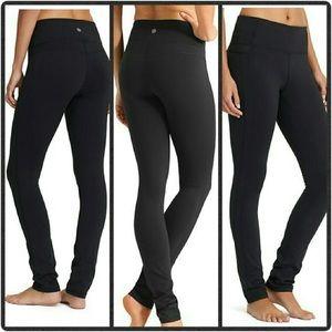 Athleta💕XS Skinny Up Luon Pants Yoga Black