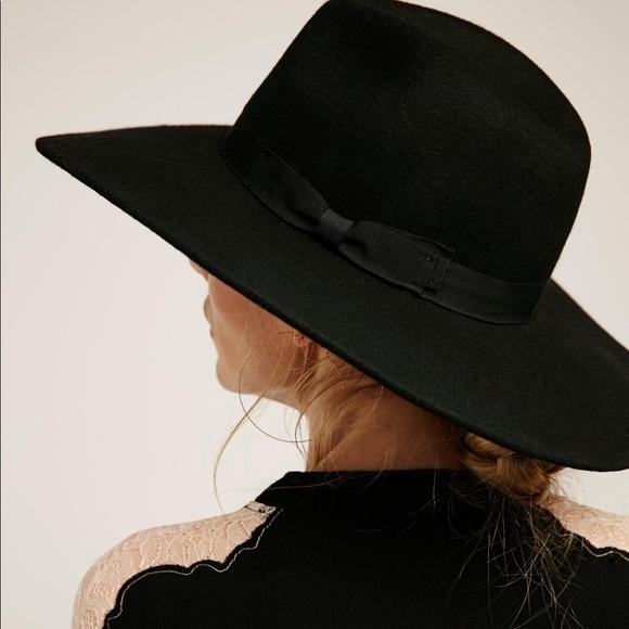 c59c8a1344bbe Wide Brim Western Soho HAT Black